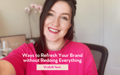 3 Ways to Refresh Your Brand without Redoing Everything